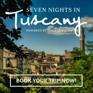 Book your Seven Nights in Tuscany Tour Now! Explore Siena, Pisa, Monteriggioni & Volpaia.